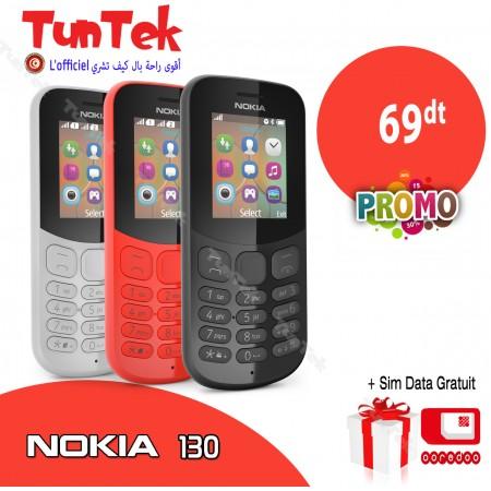 Nokia 130 Double SIM + Garantie 1 AN